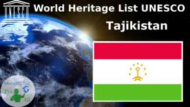 World Heritage List UNESCO - Tajikistan