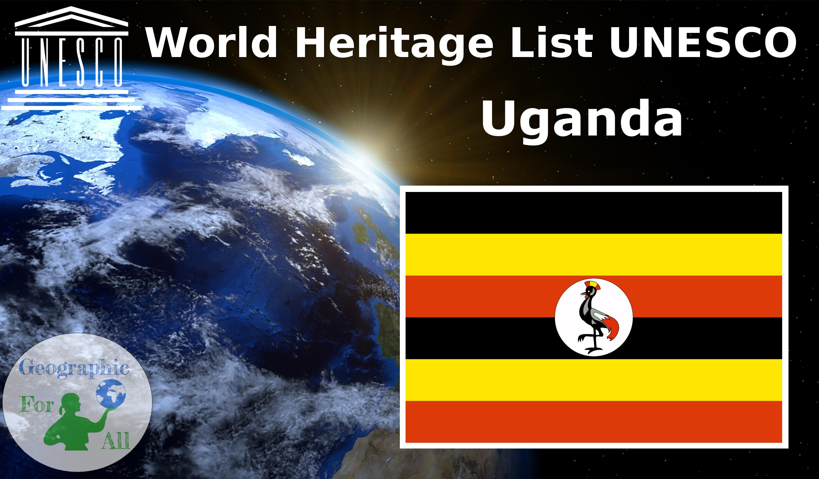 World Heritage List UNESCO - Uganda