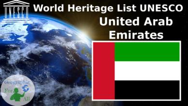 World Heritage List UNESCO - United Arab Emirates