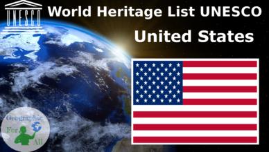 World Heritage List UNESCO - United States