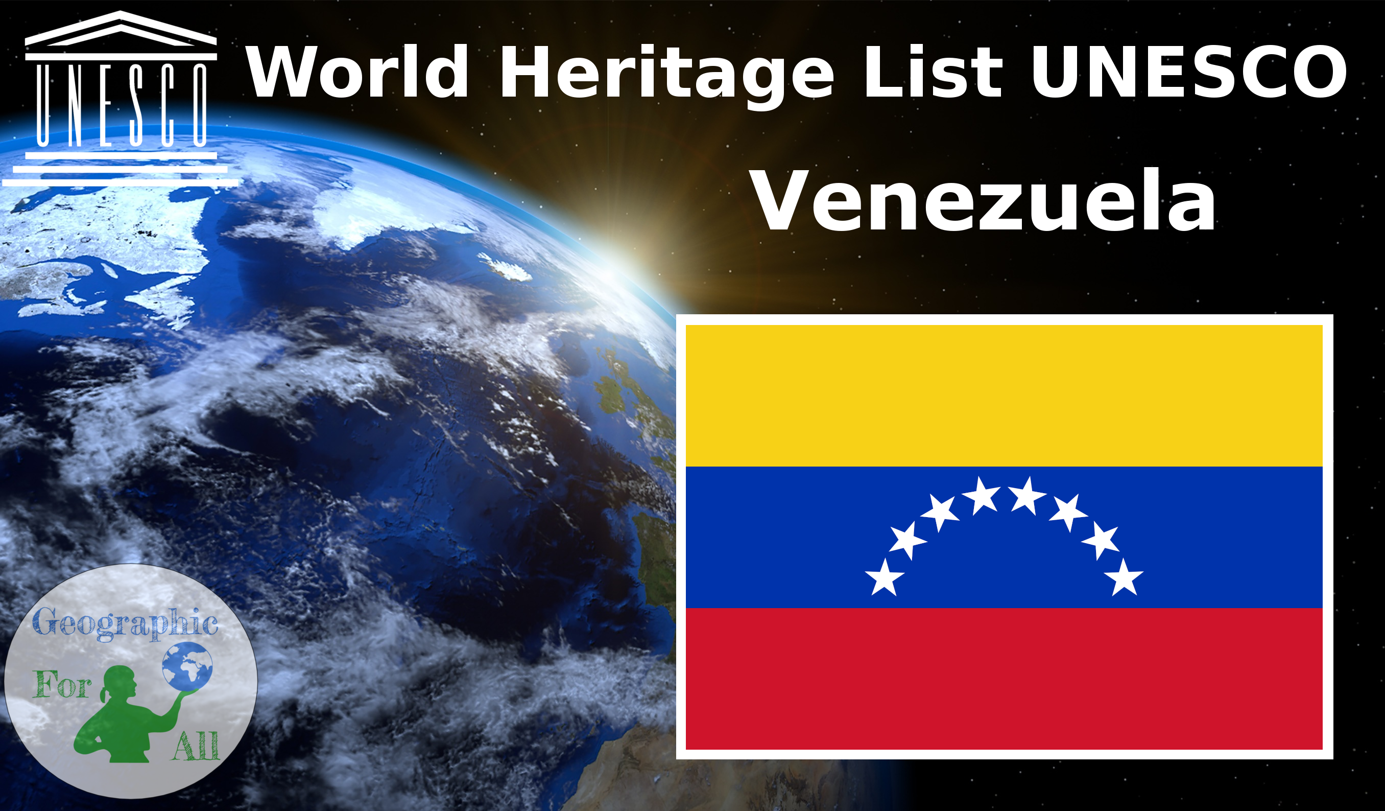 World Heritage List UNESCO - Venezuela