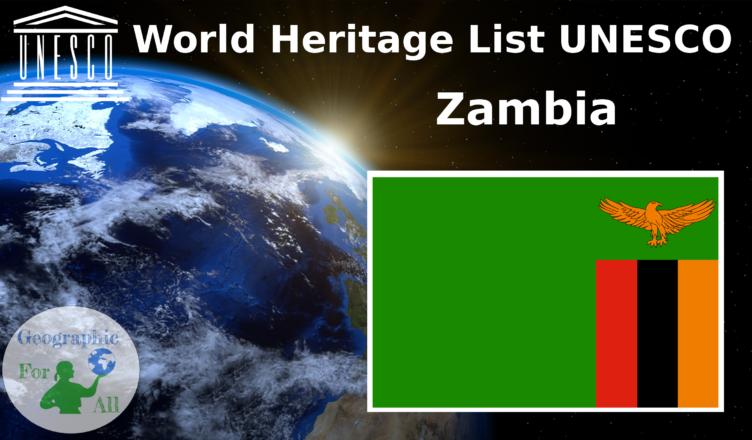 World Heritage List UNESCO - Zambia