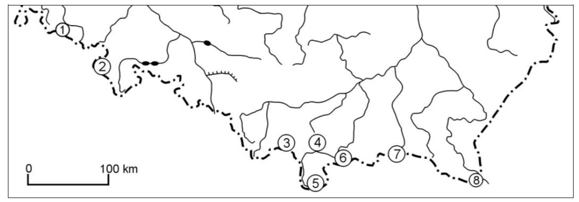 stara matura zgeografii 2015 pr zadanie 33 mapa