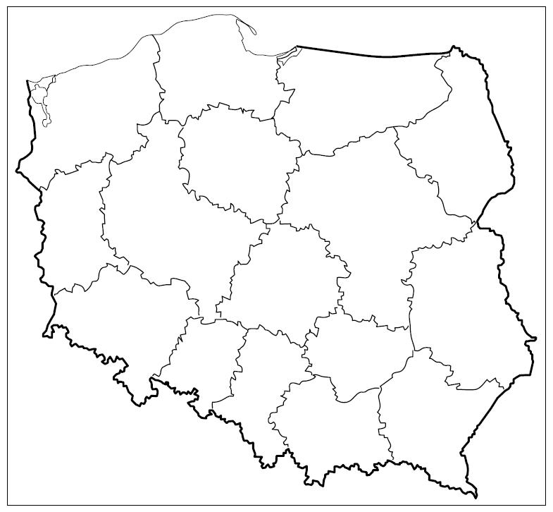 matura zgeografii 2013 pp zadanie 19 mapa