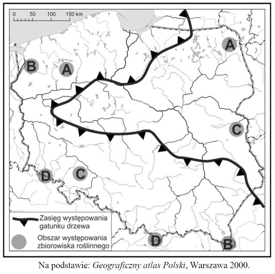 próbna matura zgeografii 2014 pr zadanie 24-25 czarno-biała