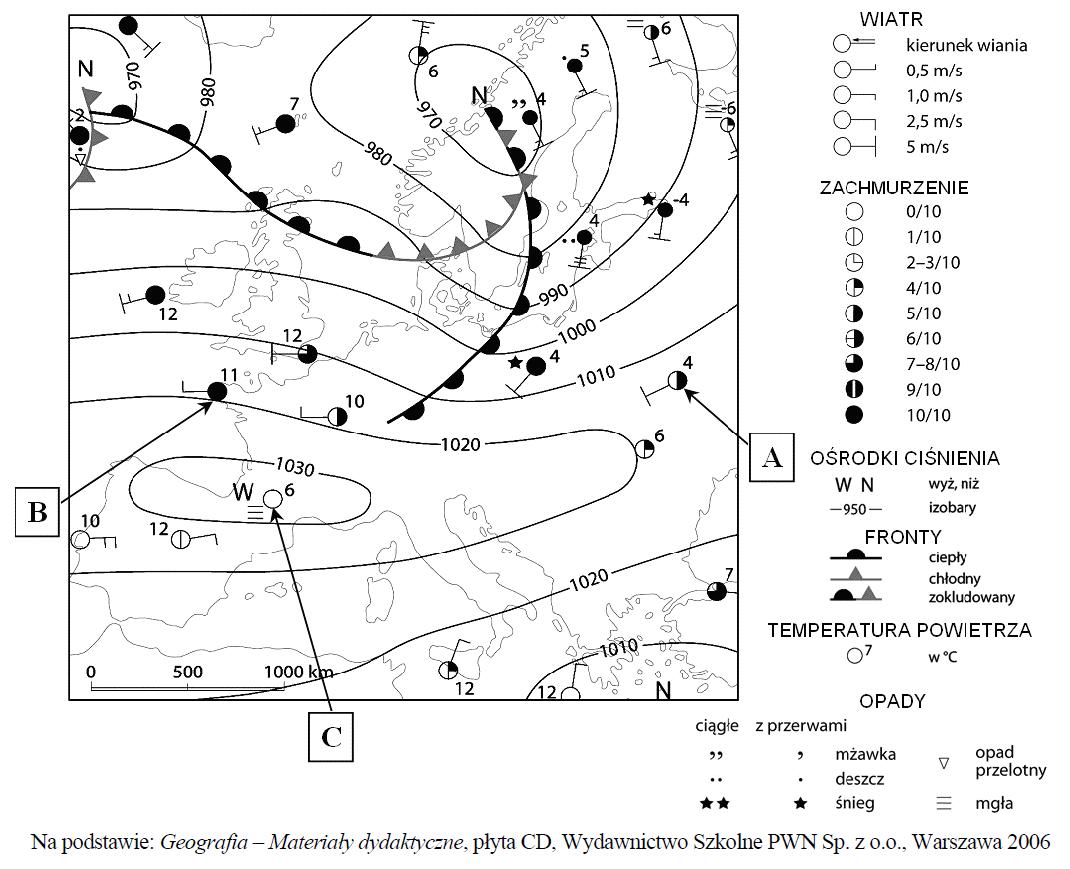 matura zgeografii 2012 maj pp zadanie 12